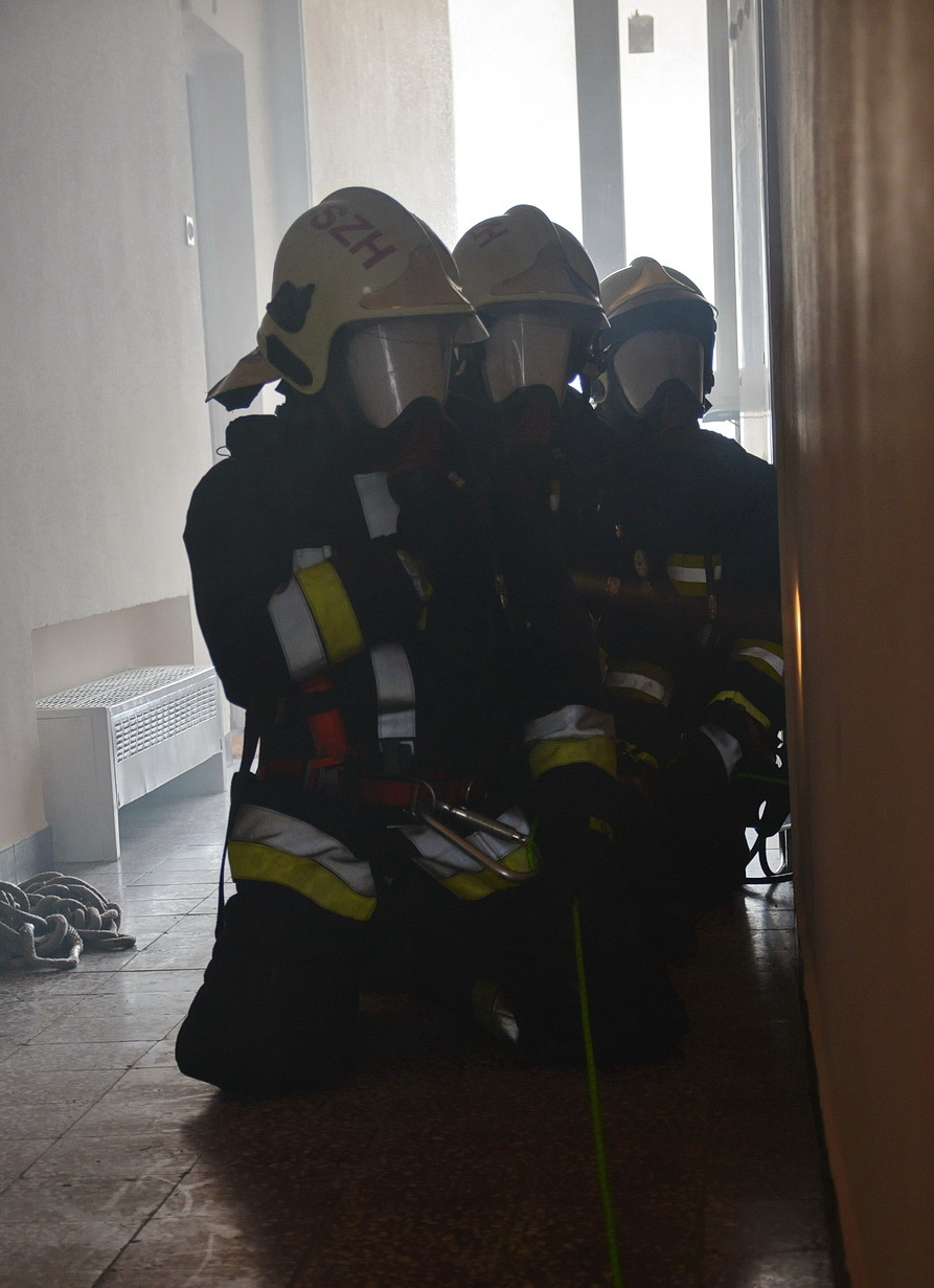 Látóélesség a tűzoltók számára